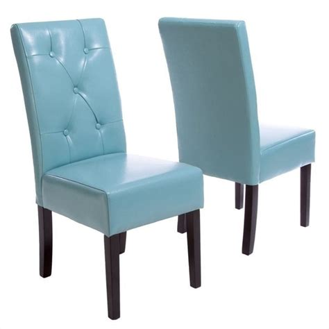 teal blue kitchen chairs trent home renoir dining chair in teal blue set of 2
