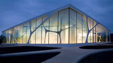 leonardo glass cube bad driburg germany  architect