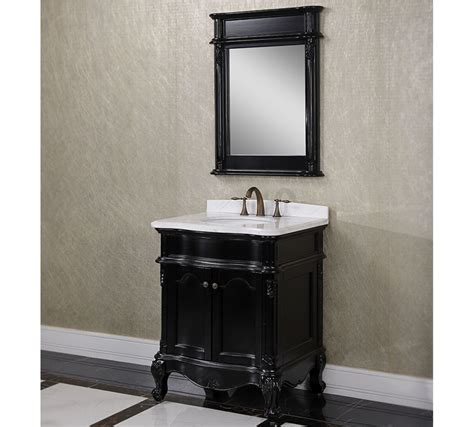 Black Antique Vanity by Antique Wk Series 30 Inch Single Sink Bathroom Vanity