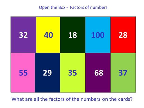factors in the of twenty two hundred classic reprint books factors and multiples topic ppt