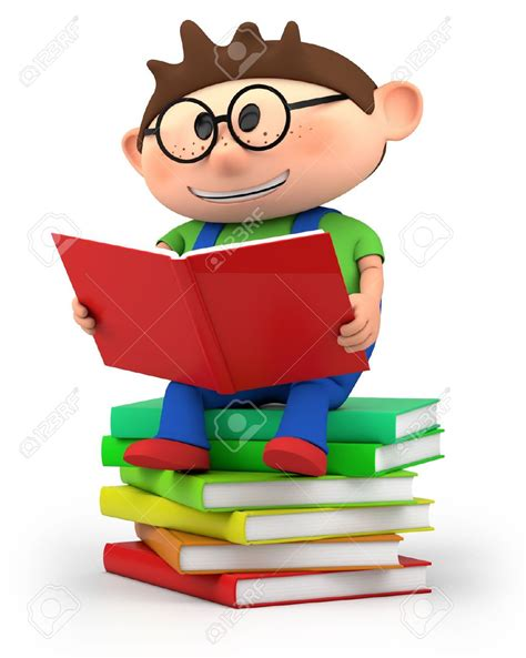 quality picture books kid reading clipart 63