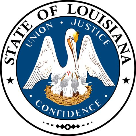 louisiana facts map and state symbols louisiana flags emblems symbols outline maps