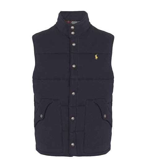 Polo Quilted Vest by Polo Ralph Quilted Vest In Blue For Lyst