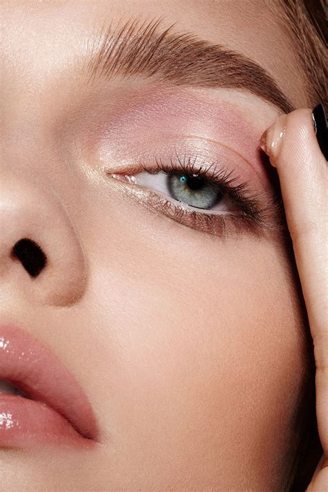 colored brows maybelline how to apply makeup eyeshadow glossy eyelids