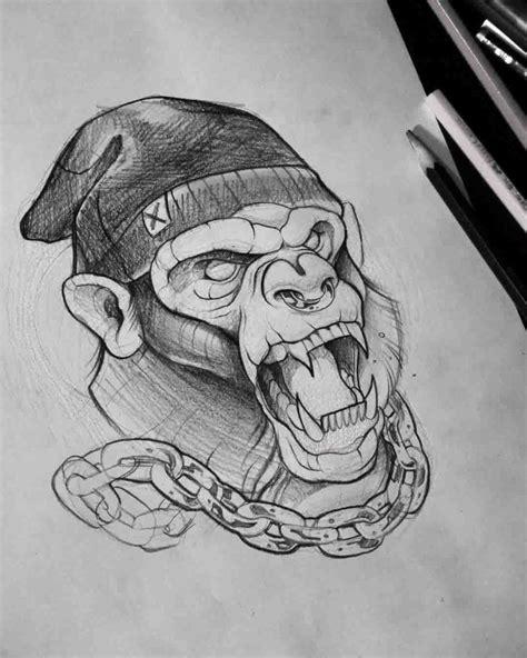 year of the monkey tattoo designs best 25 monkey tattoos ideas on tattoos pics