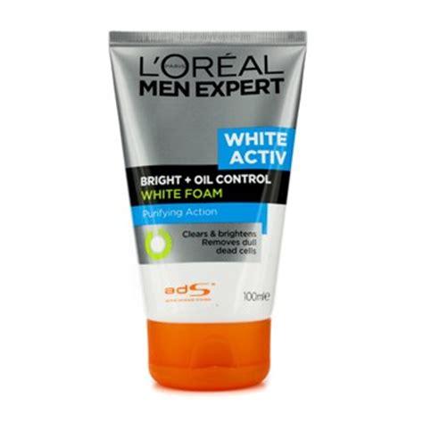 Pencuci Muka L Oreal l oreal expert white activ bright foam fresh