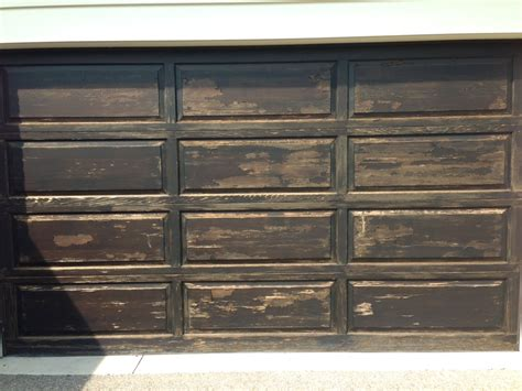 Wood Painted Garage Doors The Cost Of Refinishing A Wood Front Door Or Garage Door Painting In Partnership