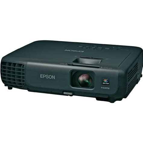 Projector Epson 5000 Lumens epson eb s03 dlp projector ansi lumen 2700 lm 10000 1 5000 hrs black from conrad