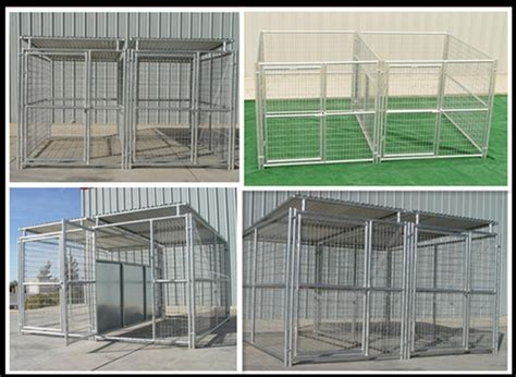 dog pen sections popular 10 x10 x6 dog run kennels with roofs 2 sections