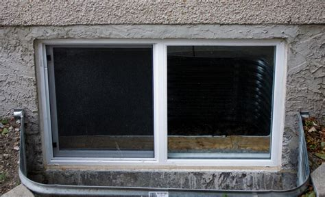 how to install a basement window in concrete best design