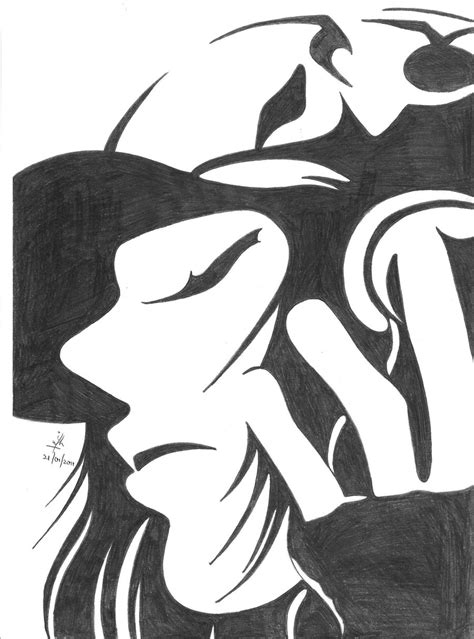 Sketches Black And White black and white sketch by craft lover on deviantart