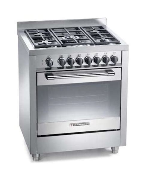 Oven Gas Tecnogas gas cooker 70x60 cm 5 burners electric oven tecnogas