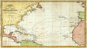 where is columbus on a map christopher columbus nautical routes map 1828