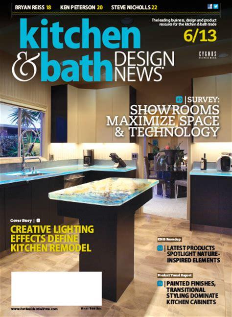 kitchen design news kitchen bath design news june 2013 187 pdf magazines archive