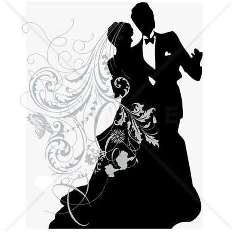 Wedding Silhouette by Wedding Reference Wedding Decoration
