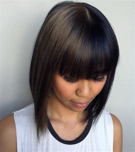 two toned bangs hairstyles for african american 40 two tone hair styles