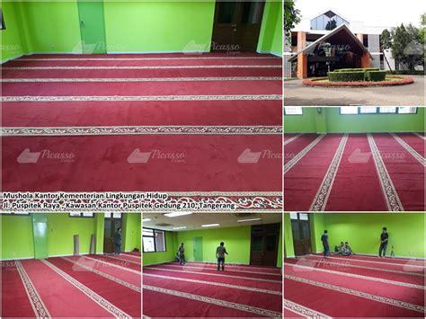 musholla kantor kementrian lingkungan hidup jl puspitek raya gedung 210 tangerang picasso rugs