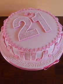 21st beautiful birthday cake