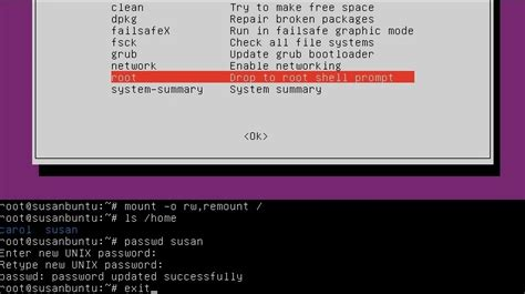 resetting forgotten ubuntu password c4nch0laspower reset psw ubuntu