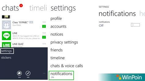 chat wallpaper line tidak bisa diganti cara mematikan notifikasi chat bbm whatsapp dan line di