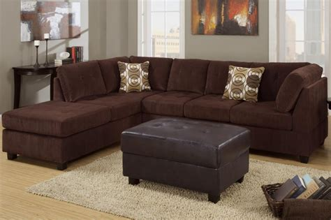 chocolate brown suede sectional bedroomdiscounters sectional sofa sets