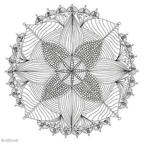 Mandala à colorier   Idées et conseils Coloriage