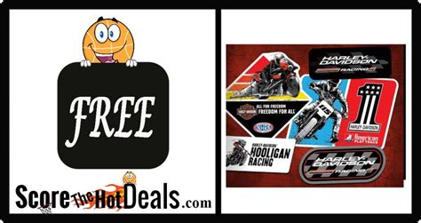 Racing Sticker Pack by Free Harley Davidson Racing Sticker Pack Score The