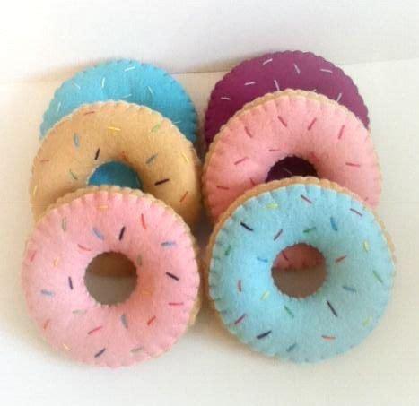 felt donut pattern diy donut felt toy doll house pattern felt pinterest