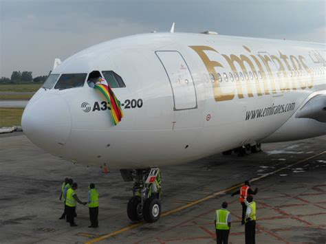 emirates zimbabwe the african aviation tribune zimbabwe emirates to