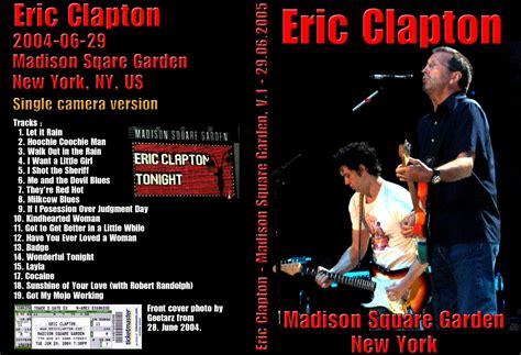 eric clapton square garden new york ny june
