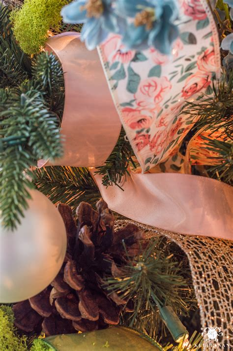 best ribbon to use on tree how to decorate a tree with ribbon kelley nan