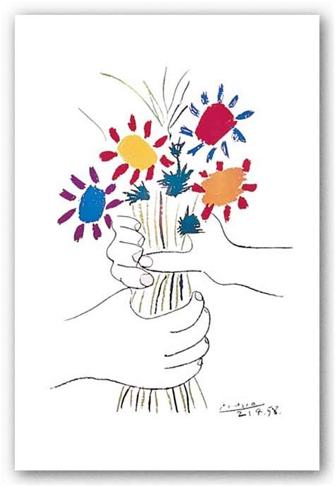 picasso paintings flowers pics for gt picasso flowers