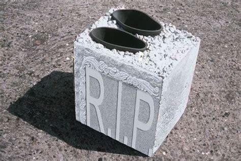 cement shoes budget coffins