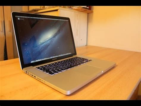 Macbook Pro Non Retina unboxing quot new macbook pro 15 quot mid 2012 non retina uk