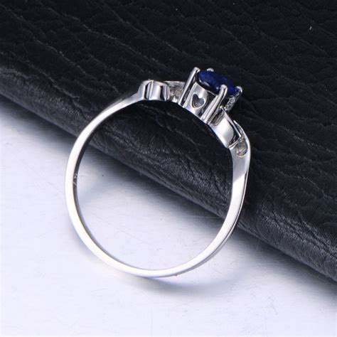 Inexpensive Engagement Rings by Inexpensive Sapphire Engagement Ring With Diamonds On 10k