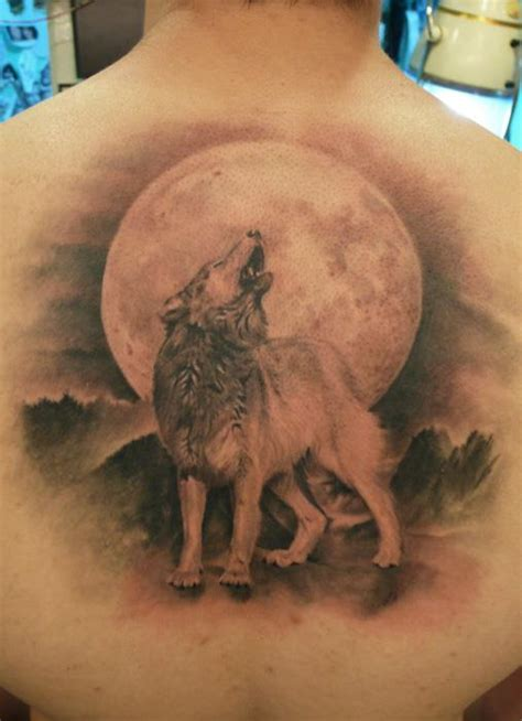 tattoo back wolf 3d tattoos and designs page 95