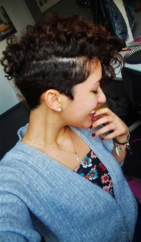 before and after fade haircuts on women 25 best ideas about undercut curly hair on pinterest