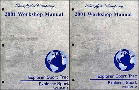 book repair manual 2010 ford explorer sport trac instrument cluster 2001 ford explorer and sport trac shop manual set repair service workshop ebay