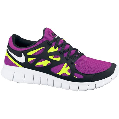bike24 nike free run 2 s running shoe pink