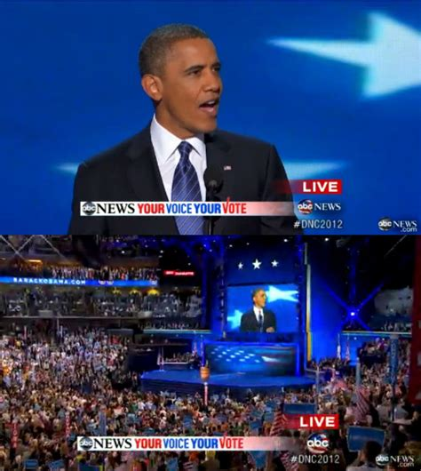 Video of obama s great acceptance speech september 6 2012 at the