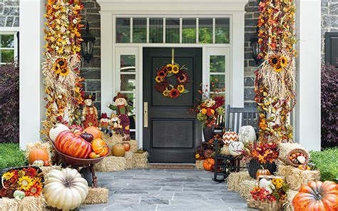 front door decorating ideas 15 fall front door decoration ideas garden club