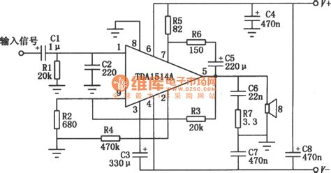 integrated lifier schematic 50w hi fi integrated audio power lifier tda1514a circuit lifier circuits audio
