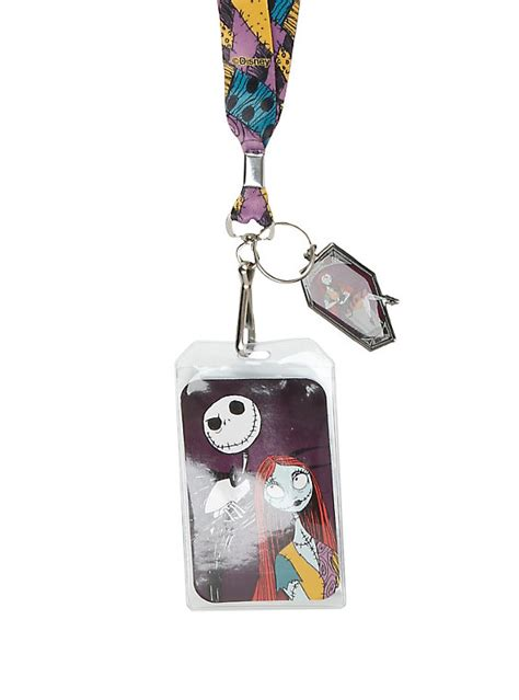 7 Accessories By Loungefly by Loungefly The Nightmare Before Sally Lanyard