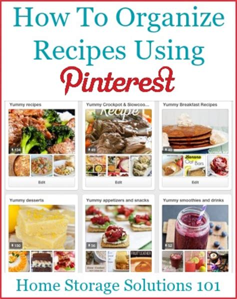 home storage solutions 101 organized home organizing recipes using pinterest tips tricks