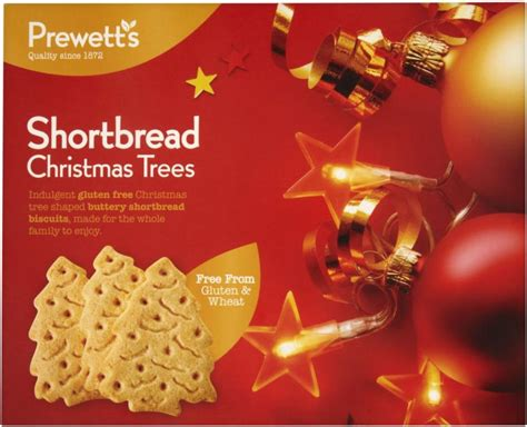 prewetts shortbread christmas trees 170g approved food