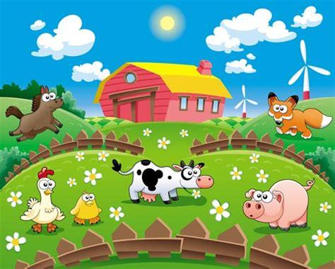 pattern energy el arrayan cartoon farm vectors
