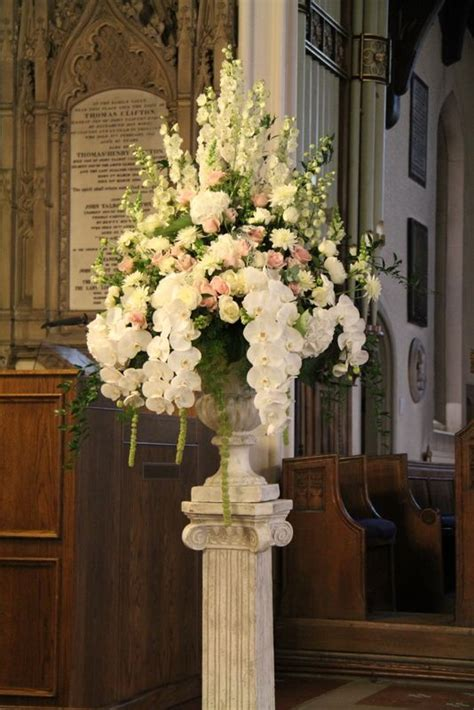 Church Wedding Flower Arrangements by 17 Best Images About Church Flowers On Altar