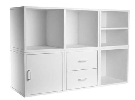 cheap foremost 340001 modular 5 in 1 shelf cube storage