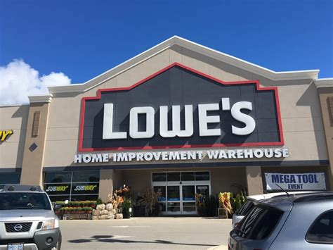 lowe s lowe s home improvement warehouse 71 bryne drive barrie on