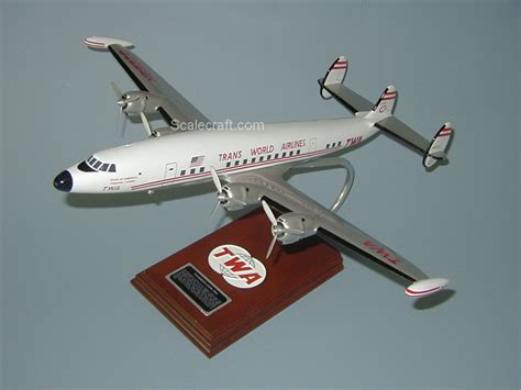 commercial model planes constellation mahogany wood airplane model